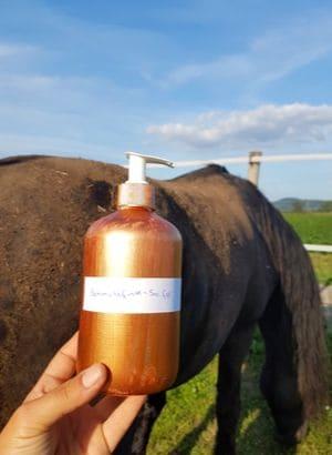 Seife für Pferde selber machen